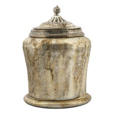 Kanta Antik Kapaklı Vazo Küçük Boy