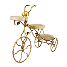 Lux Gold Dekoratif Bisiklet Büyük Boy