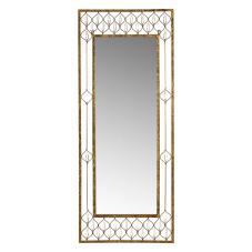 Gold Taşlı Duvar Aynası