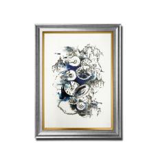 Antik Saat Dekoratif Çerçeveli Tablo