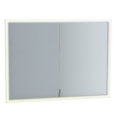 Frame Duvara Gömme Dolaplı Ayna 95 cm