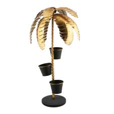 Gold Palmiye Dekoratif Metal Ağaç
